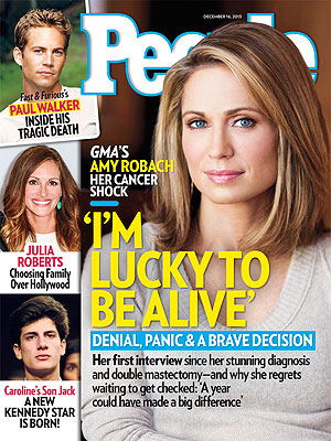 People Magazine: Julia Roberts Chooses Family Over Hollywood (PHOTO)