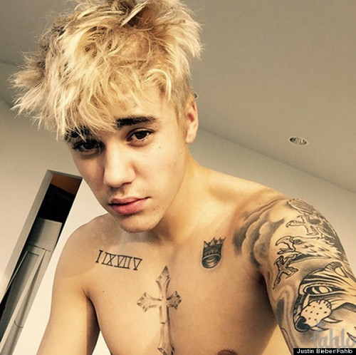 Justin Bieber Is Blonde Now (PHOTO)