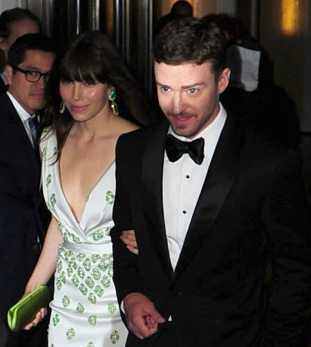 Report: Justin Timberlake and Jessica Biel Got Married This Weekend