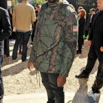 Looks Like Kim's On House Arrest: Kanye West Enjoys A Day Out At Paris Fashion Week