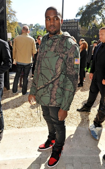 kanye west paris fashion week