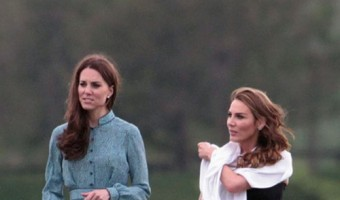 Royals at Coworth Park polo match
