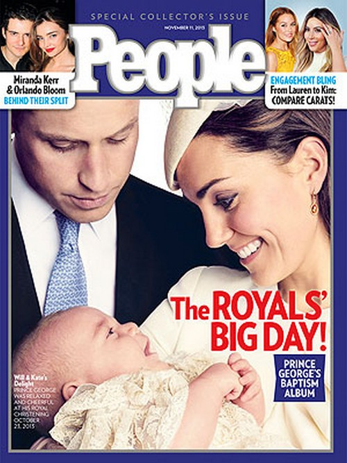 People Magazine: Prince George's Baptism Photo Album