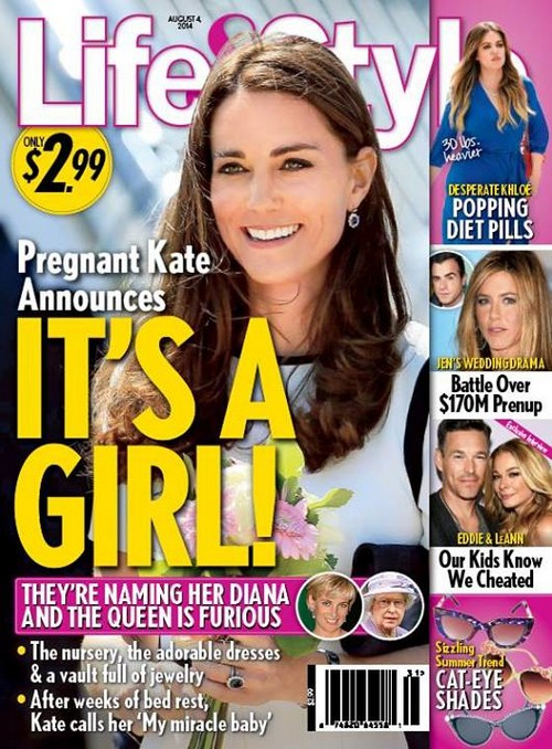 Pregnant Kate Middleton Rumored to Be Expecting A Girl - Prince William Plans To Name Second Child Diana