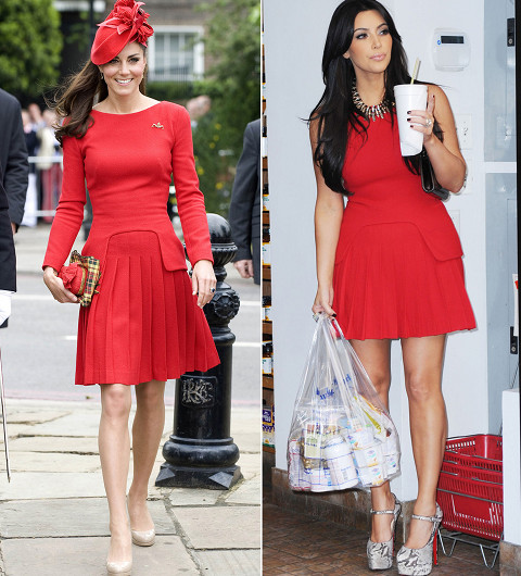 Kim Kardashian Thinks Kate Middleton Will Wear Kardashian Kollection Now That London Store Is Open