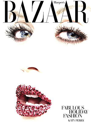 Katy Perry Goes Swarovski Glam for Harper's Bazaar – Photos, Video