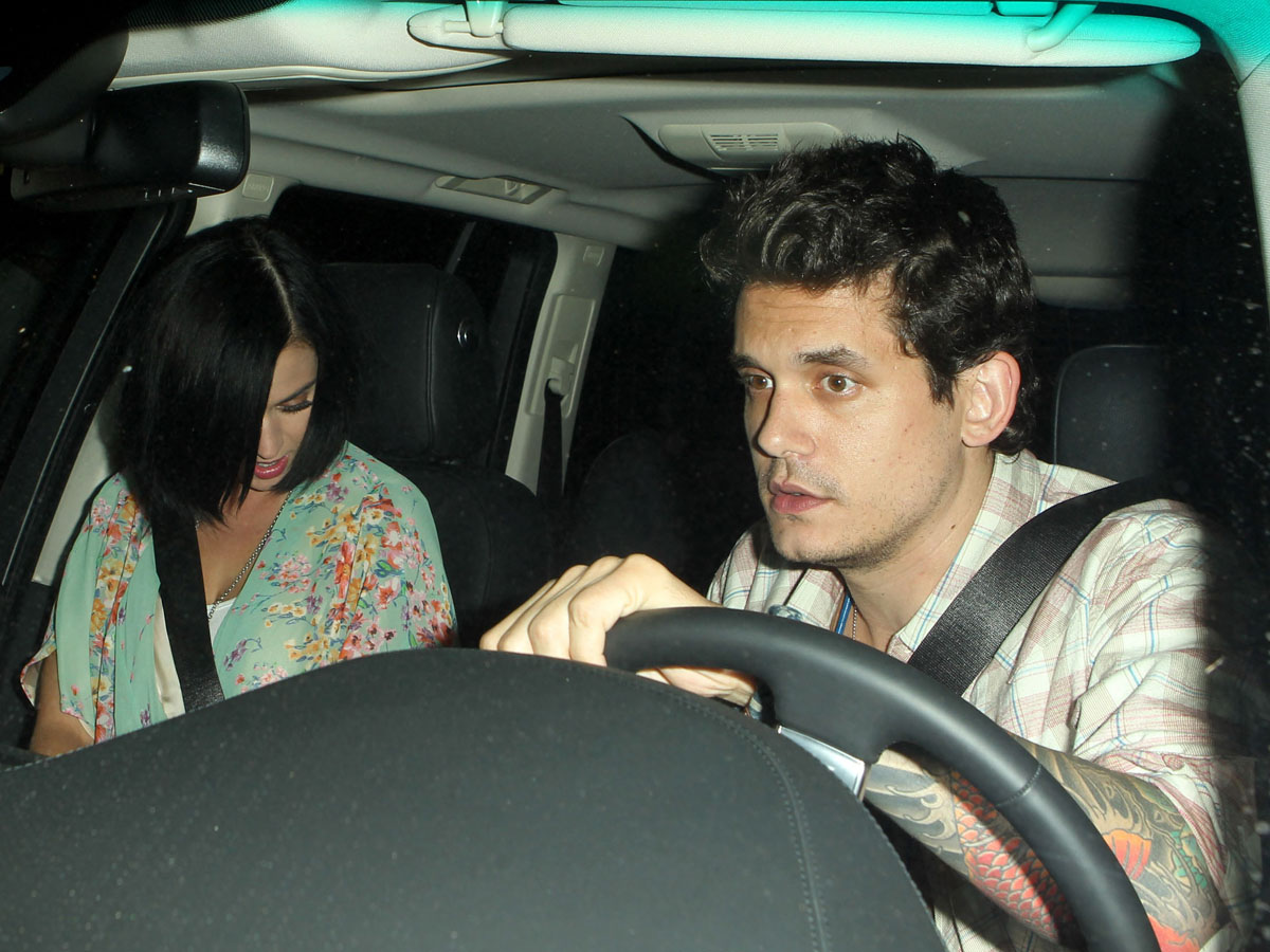 Katy Perry and John Mayer : Date Night at the Little Door