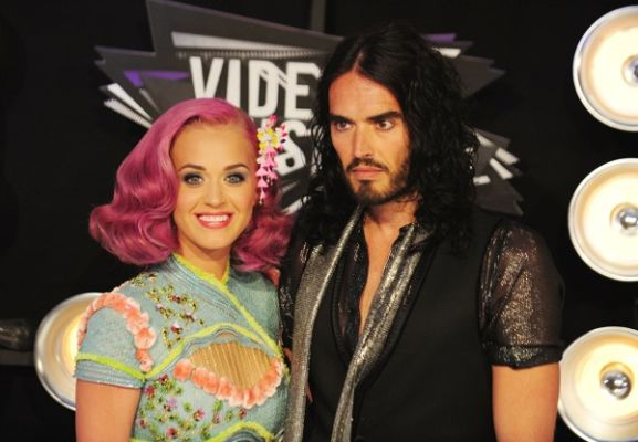 katy perry russell brand vma