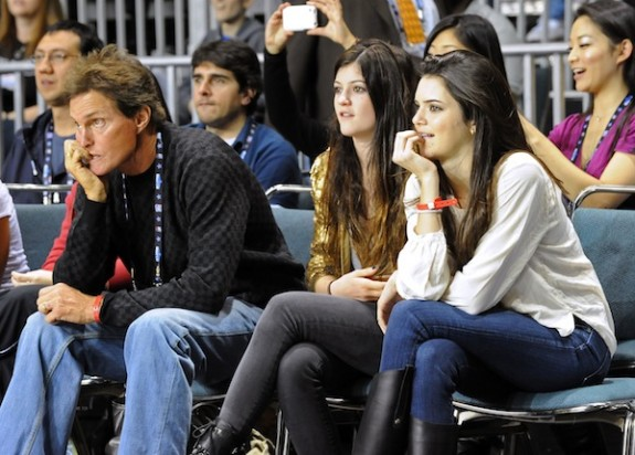 Bruce Jenner 'Proud' Of Kendall And Kylie But Still 'Watches His Little Girls Like A Hawk'