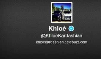 "Khloe Kardashian Gets Rid Of ""Odom"" From Twitter Username"