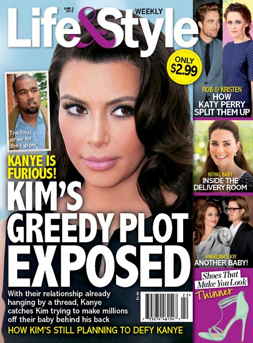 Kim Kardashian's Greedy Plot To Pimp Out Her Kid