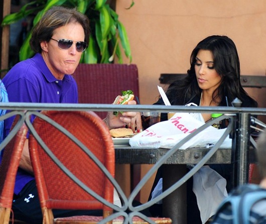 Kim Kardashian No Longer Speaking To Bruce Jenner Over Kanye West Romance