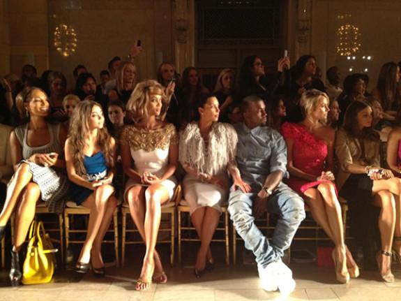 kim kardashian fashion show