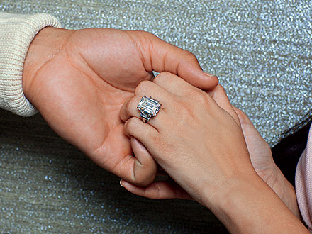 Kim Kardashian and Kris Humphries ENGAGED!  Ring Pics