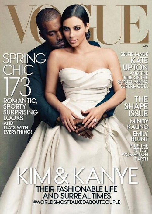Kim Kardashian and Kanye West Cover Vogue Magazine: The End Of A Serious Fashion Magazine