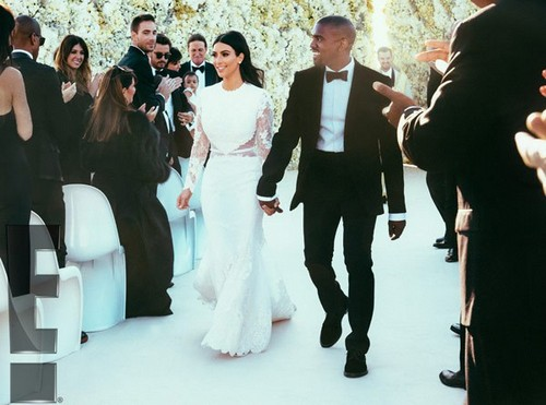 Kim Kardashian and Kanye West Spent 4 Days Photoshopping Wedding Photos
