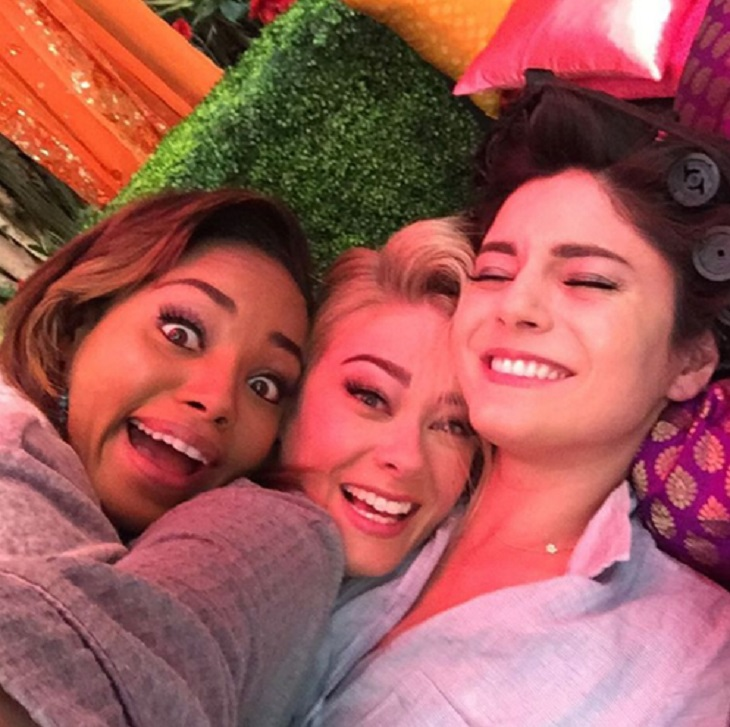 'The Bold And The Beautiful' News: Kim Matula Shares Behind The Scenes Photos From 'UnReal' Season 2 On Lifetime