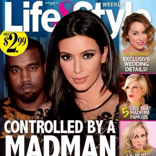 Kim Kardashian Controlled By 'Madman' Kanye West - Will He Hurt Her?