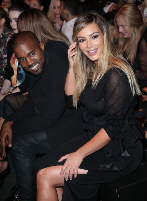Kanye West Bans Kim Kardashian From Getting More Plastic Surgery: Kim Freaks!