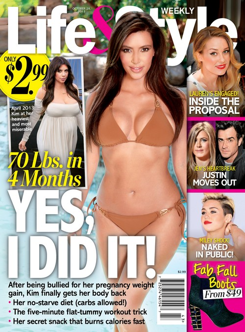 Kim Kardashian Drops 70 Pounds In Four Months - Shows Off Bathing Suit Pic (PHOTO)