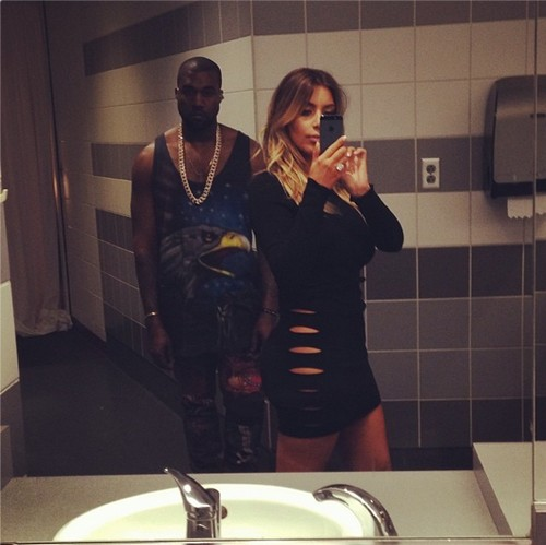 Kim Kardashian Trying To 'Calm' Kanye West Down in Miami (PHOTOS)