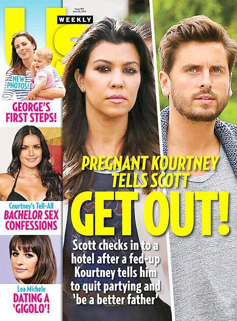 Scott Disick Staying At Hotel After Nasty Blowout With Pregnant Kourtney Kardashian! (PHOTO)