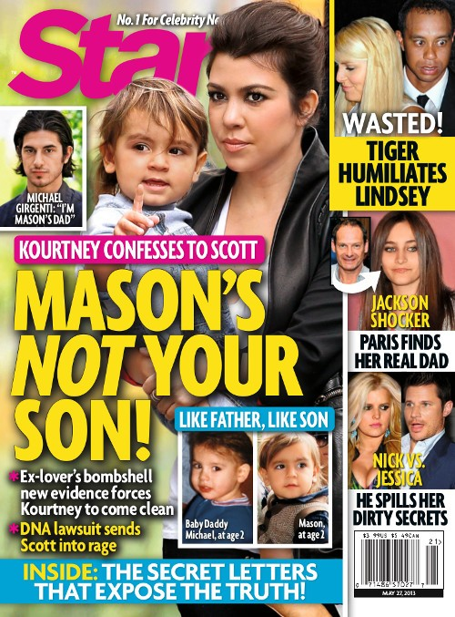 Kourtney Kardashian Confesses Scott Disick Isn&#8217;t Mason&#8217;s Father