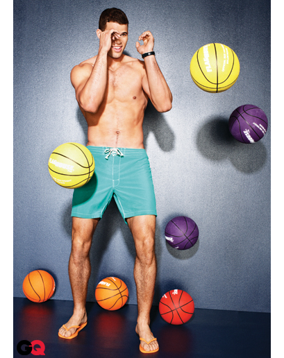 Kris Humphries Wears Tiny Shorts for GQ – PHOTOS