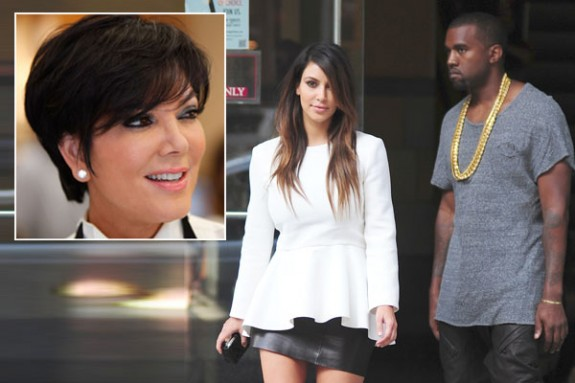 Kris Jenner Bans Kanye West From Talking About Kim's Sex Tape As The Two Prepare To Film Their Spinoff