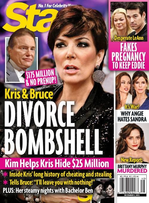 Kris Jenner Hiding Money From Bruce Jenner Before Divorce (PHOTO)