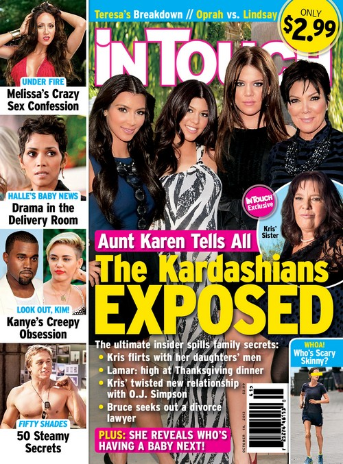 Kris Jenner Ratted Out By Sister Karen Houghton - Ugly Cheating Secrets Revealed! (PHOTO)