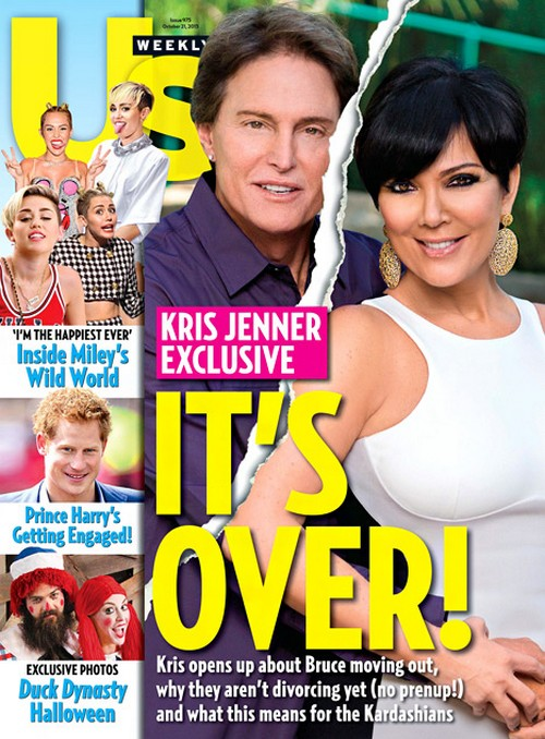 Kris Jenner And Bruce Jenner Separation Confirmed - Living Apart Since June