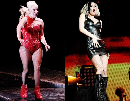 lady gaga before after