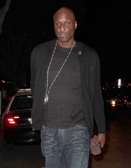 Lamar Odom Dates Young Mystery Blonde - A Desperate Attempt To Make Khloe Kardashian Jealous!