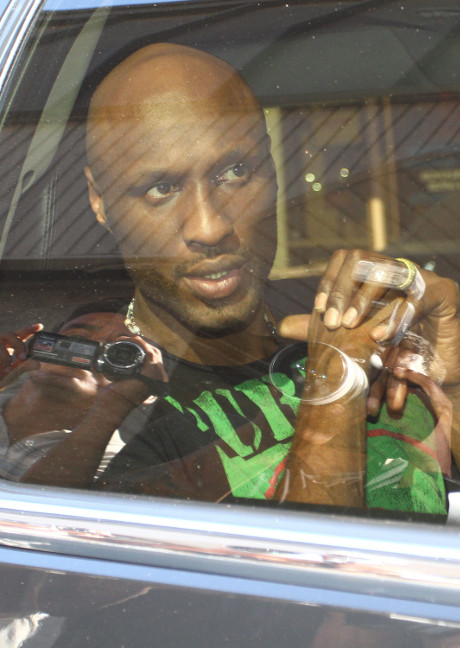 Lamar Odom Charged With DUI After Failing Field Sobriety Test