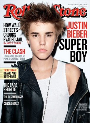 Justin Bieber - Rolling Stone March 2011