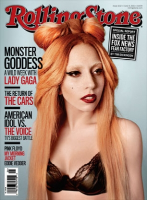 LOOK: Lady Gaga Covers Rolling Stone For Third Time – June 2011