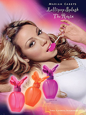 Mariah Carey Launches New Fragrances &#8216;Lollipop Splash the Remix&#8217;