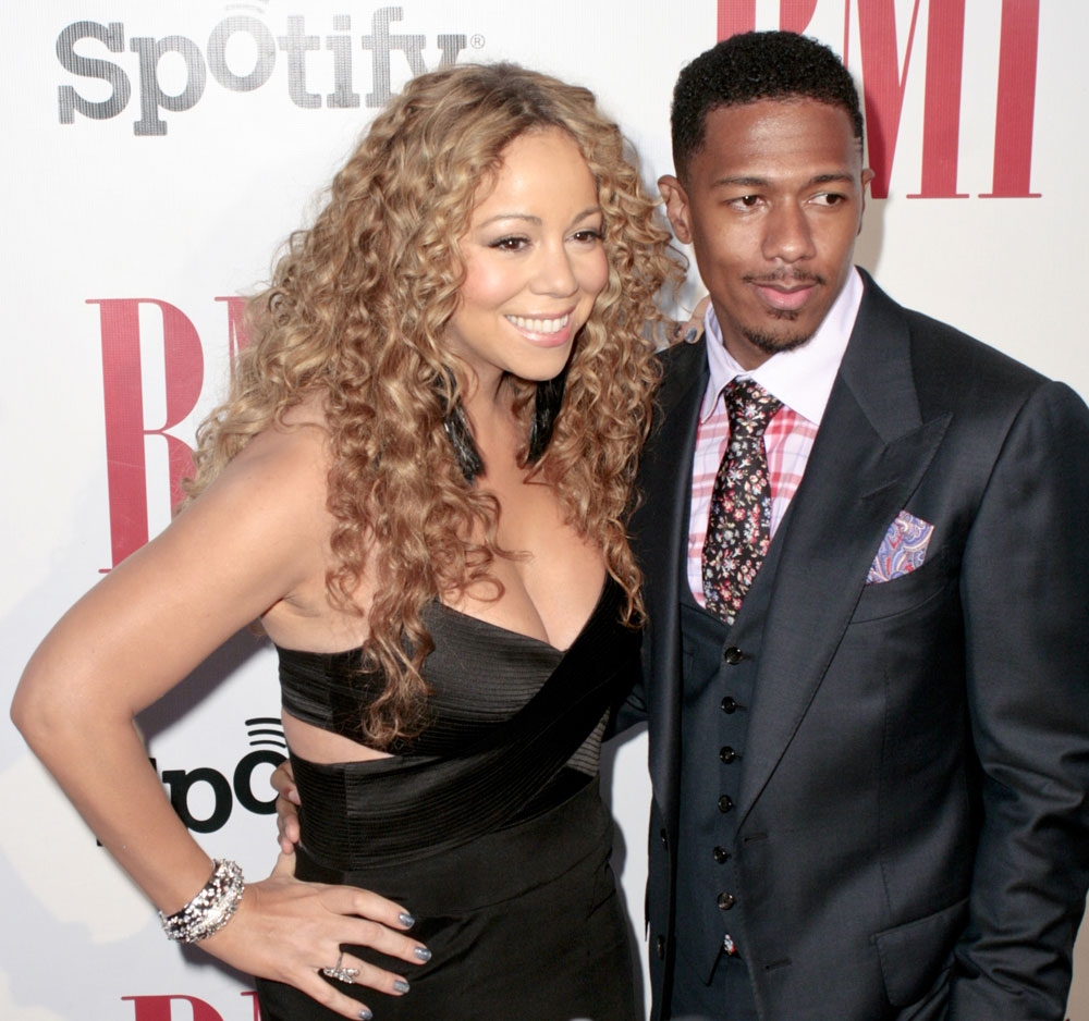 mariah carey nick cannon red carpe