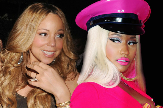 Nicki Minaj Threatens To Beat Up Mariah Carey After The Two Clash Over American Idol Contestant &#8211; VIDEO