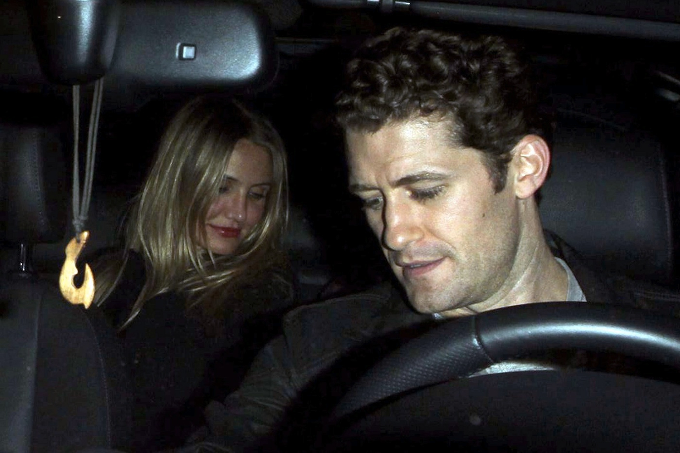 New couple alert?? Cameron Diaz enjoys a Gleeful night on the town with Matthew Morrison!