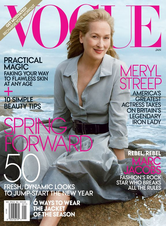 PHOTOS: Meryl Streep is STUNNING For First EVER Vogue Cover