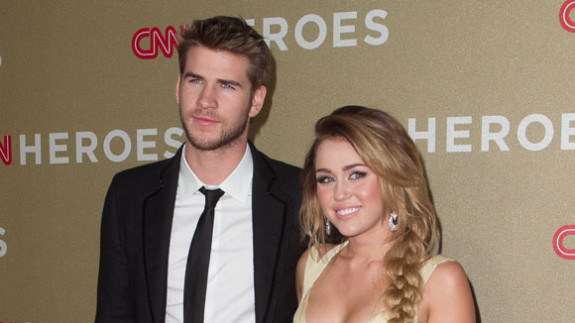 Miley Cyrus Announces Engagement To Liam Hemsworth