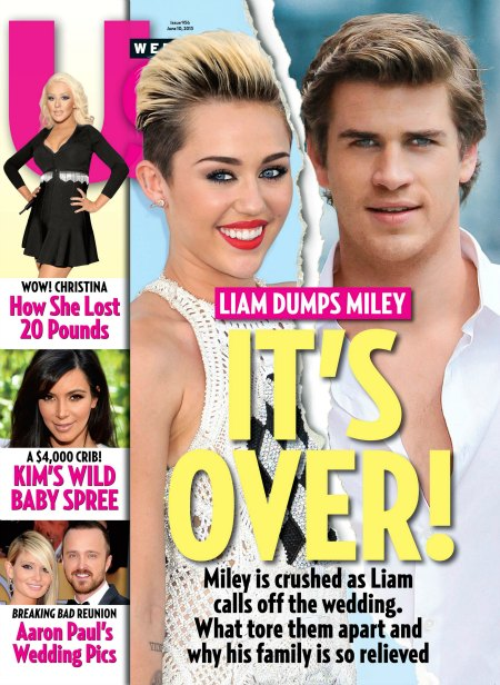 Liam Hemsworth Dumps Miley Cyrus for Good