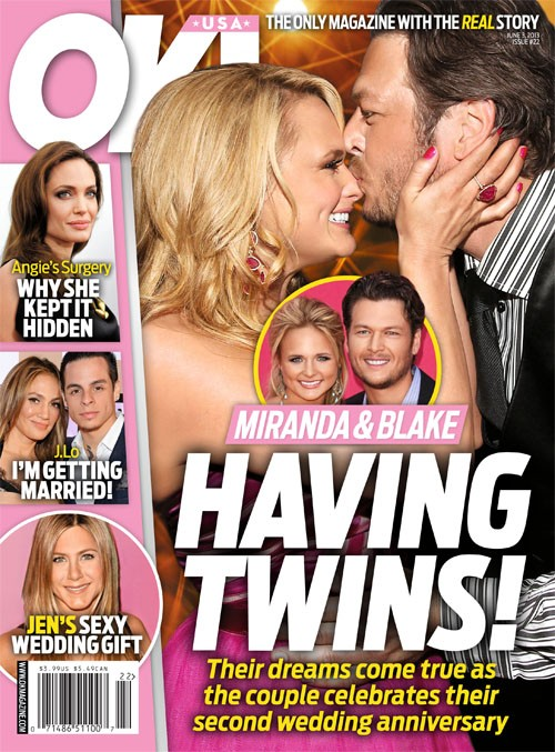 Miranda Lambert & Blake Shelton Having Twins