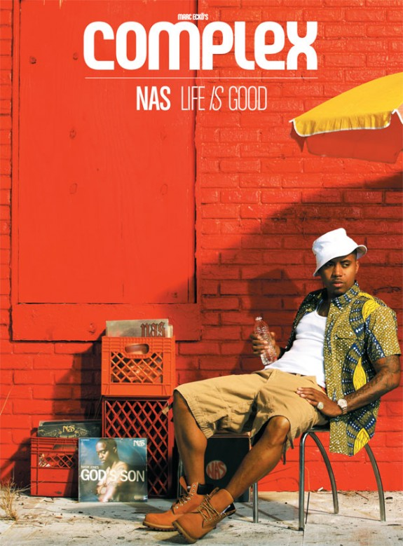 Nas Covers 'Complex' Magazine June 2012, Talks Failed Marriage To Kelis, New Music And More