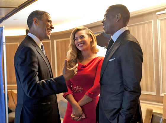 Barack Obama Gave Jay-Z Parenting Tips: &#8216;I Made Sure He Was Helping Beyonce With The Baby&#8217;