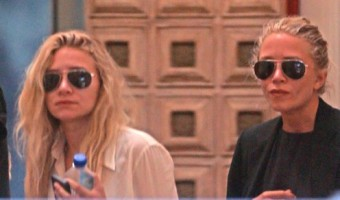 Exclusive... Mary-Kate & Ashley Olsen Looking At Some Property On Melrose