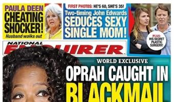 Oprah Winfrey Caught In Blackmail Scandal That Threatens Her Reputation (PHOTO)
