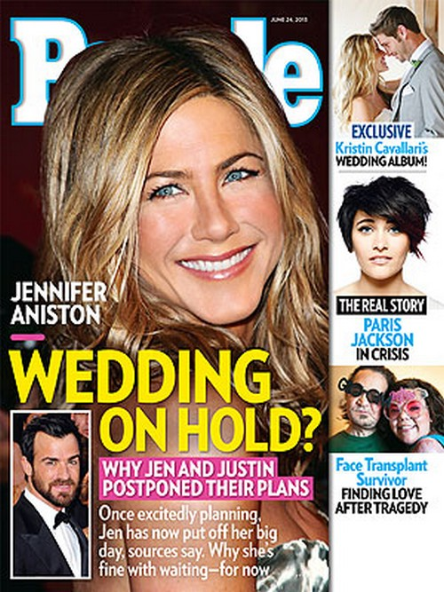 Why Jennifer Aniston and Justin Theroux's Wedding Is On Hold